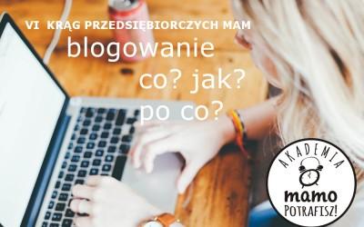 VI Krąg- blogowanie